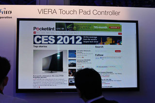 panasonic viera touch pad controller pictures and hands on image 11