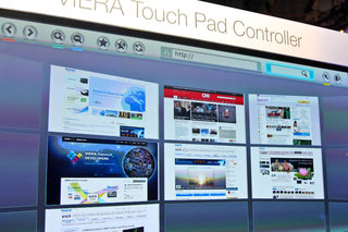 panasonic viera touch pad controller pictures and hands on image 4