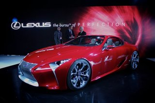 Lexus LF-LC concept pictures and hands-on