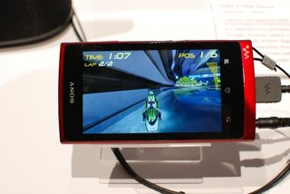 Sony Walkman Z pictures and hands-on