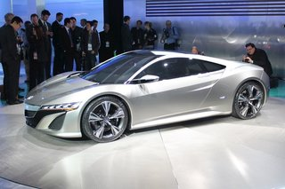 Acura NSX concept pictures