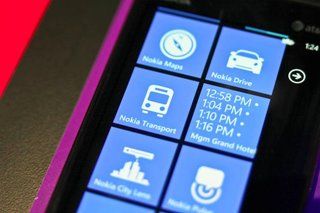 Nokia Transport app: Nokia Drive for buses and trains