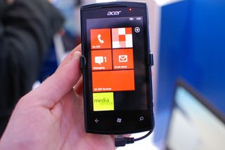 acer allegro windows phone 7 smartphone pictures and hands on image 3