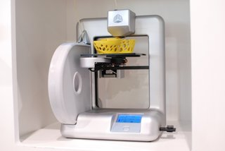 Cubify 3D home printer pictures and hands-on