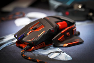 Cyborg M.M.O. 7 gaming mouse pictures and hands-on