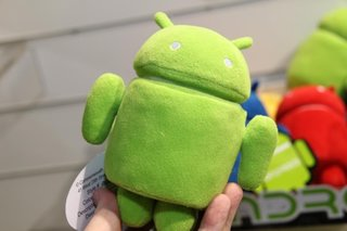 Android cuddly toy to head App Plush line (pictures)