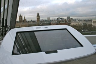 London Eye pod packing Samsung Galaxy Tab 10.1 pictures and hands-on