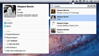 Cobook: the ultimate social Address Book for Mac