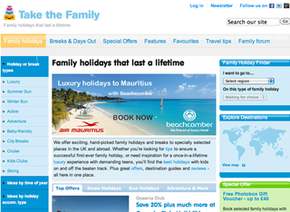 WEBSITE OF THE DAY: Take the Family