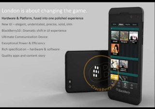 BlackBerry 10 superphone image leaked