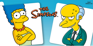 Marge Simpson and Mr Burns team up for TomTom Simpsons fun