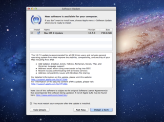 Mac OS X Lion 10.7.3 update released, fixes bugs, adds RAW support for new cameras