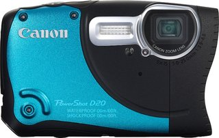 Canon PowerShot D20 rugged compact fires in