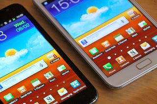 White Samsung Galaxy Note pictures and hands-on