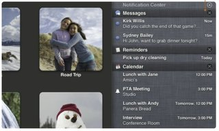iOS style notifications hit OS X Mountain Lion in new Notification Center