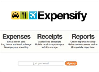 WEBSITE OF THE DAY: Expensify