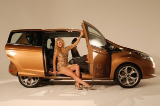 Ford B-Max and Made in Chelsea's Cheska Hull pictures and hands-on