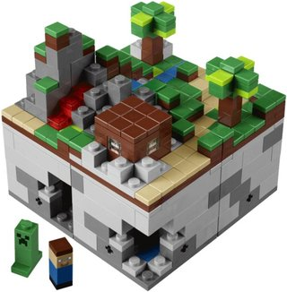 Lego Minecraft sets become reality, goes on sale this summer