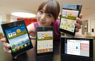 LG Optimus Vu arrives to take on the Samsung Galaxy Note