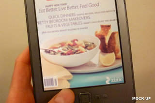 Full colour Amazon Kindle Touch eBook reader coming 2012