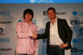 GREE teams up with Gameloft and Ubisoft for European social gaming assault