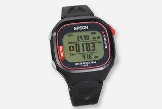 Epson announces world's lightest GPS watch, sort of