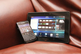 BlackBerry PlayBook 2.0 pictures and hands-on
