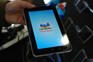 ViewSonic ViewPad E70 pictures and hands-on