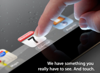 iPad 3 launch event confirmed for 7 March
