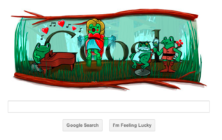 Google doodle celebrates Italitan composer, not a proposal in sight