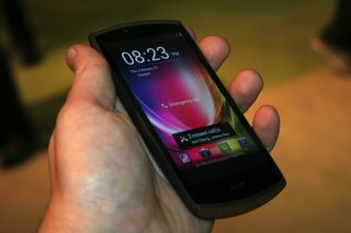 Acer CloudMobile pictures and hands-on