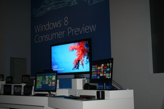 Windows 8 Consumer Preview available now