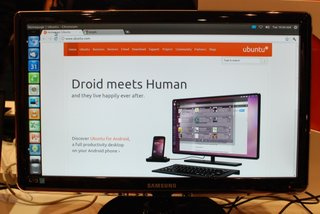 Ubuntu for Android pictures and hands-on