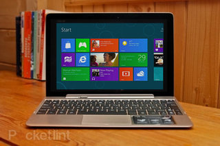 Asus hints at Windows 8 tablet, tells us Ballmer only uses a Zenbook