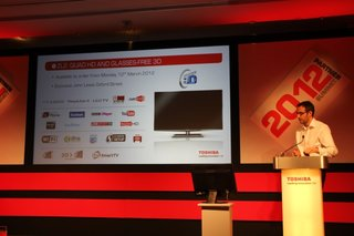 Toshiba ZL2 glasses-free 3D TV available to order