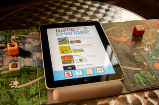 GameChanger Game Board for iPad helps kids remember traditional gaming