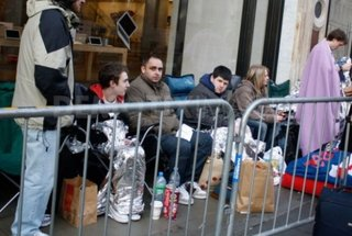 Why do people queue for an iPad?