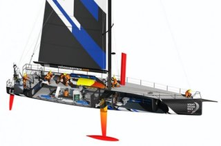 Volvo Ocean Race: Volvo Open 70 boat design explained