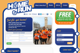 WEBSITE OF THE DAY: Home Run London