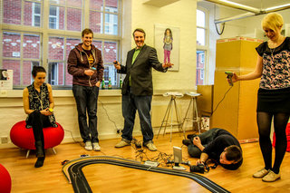 scalextric digital platinum pictures and hands on image 2