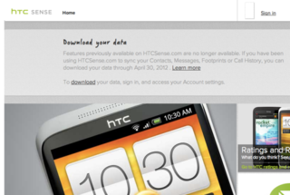 HTC cancels HTCSense.com backup service, download your data or lose it