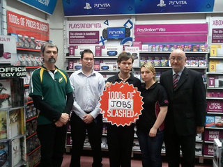 GAME Ireland protesters want fair deal