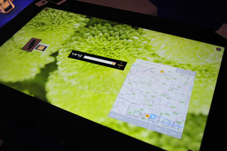 microsoft surface with pixelsense pictures and hands on image 12