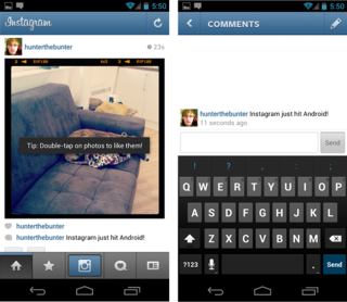 instagram for android lands we go hands on image 1