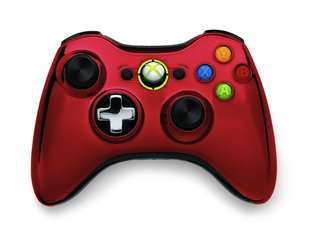 Chrome Xbox 360 controllers unveiled