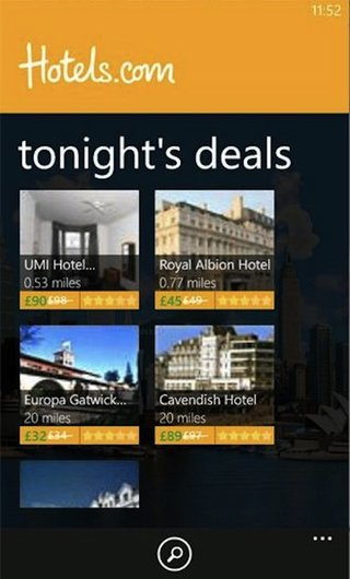 Hotels.com App now available on Windows Phone 7
