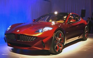 Fisker unveils its new hybrid car