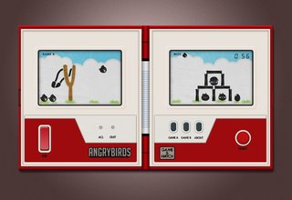 If Angry Birds had debuted on the Nintendo Game & Watch