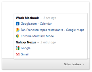 Google Chrome adds tab syncing for all devices