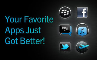 Facebook and Twitter for BlackBerry get BBM connected